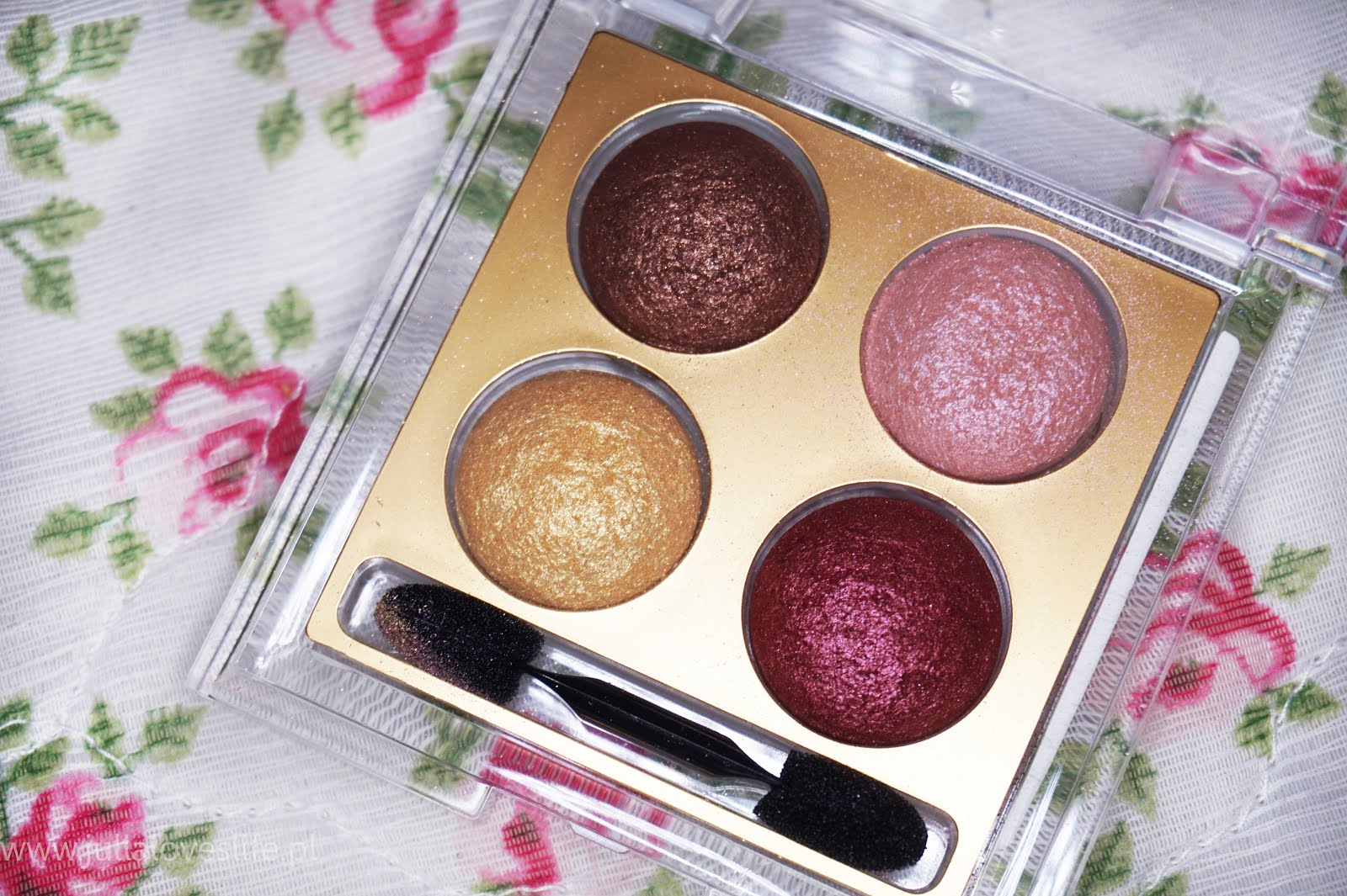 Golden Rose Wet&Dry Eyeshadow recenzja