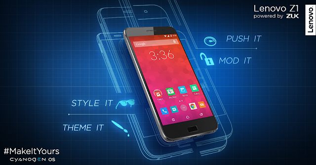 Lenovo Z1 coming to India with Cyanogen OS
