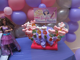 DECORACION FIESTA BARBIE POP STAR