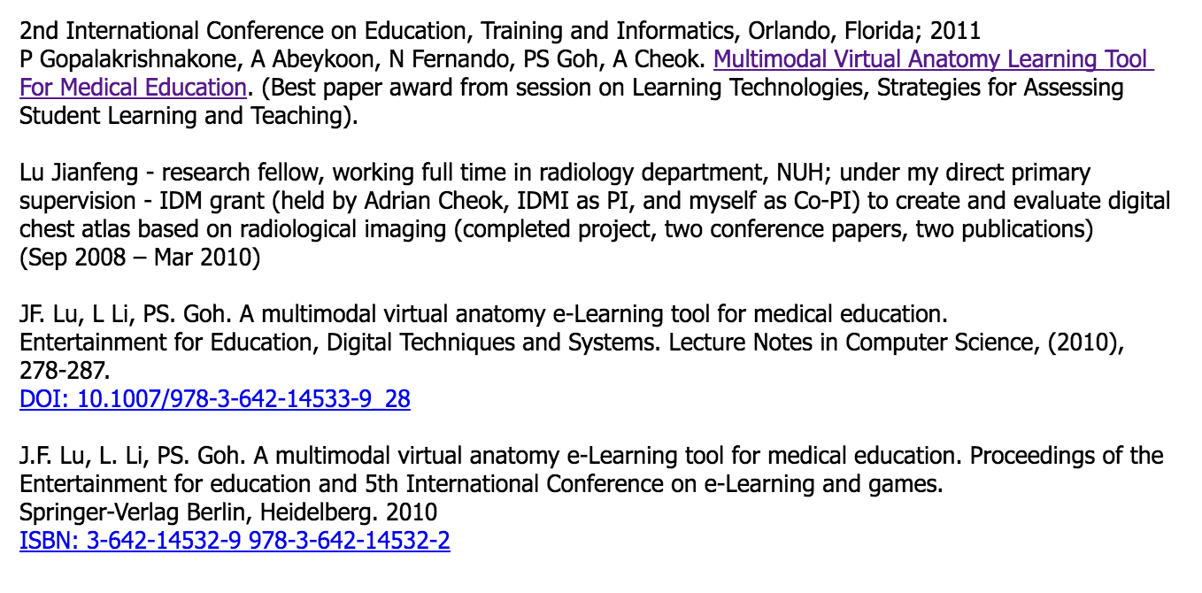Medical Education And Elearning Portfolio Meded Conference Symposia