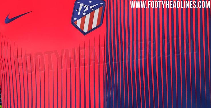 Home Kit Design Confirmed - Crazy Nike Atlético Madrid 18-19 Pre-Match  Jersey Leaked 9e970b8c0