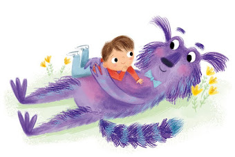 SCBWI Featured Illustrator of the month