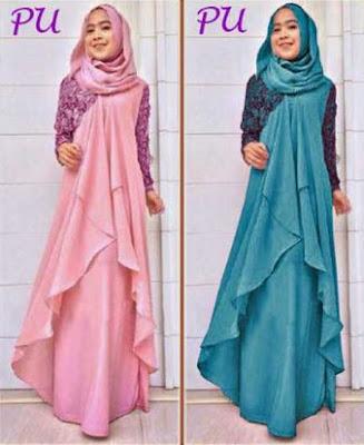 model terbaru baju muslim untuk pernikahan