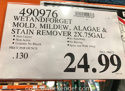 Deal for Wet & Forget Mold Mildew & Algae Stain Remover at Costco