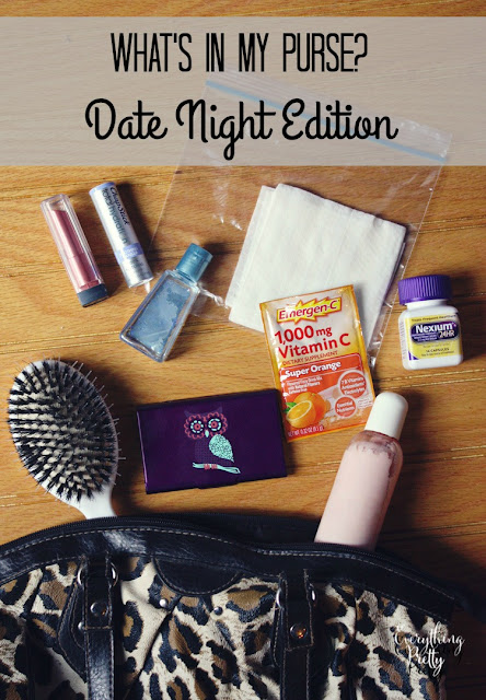 What's in My Purse: Date Night Edition