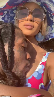 Rapper, Cardi B And Her Husband, Migos Star Offset Are Currently Enjoying A Romantic Vacation In Mexico
