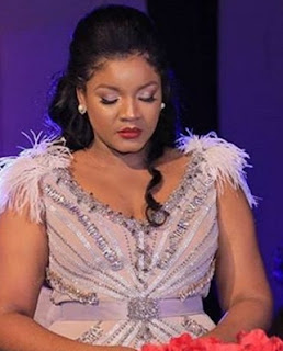 omotola jalade made 15million birthday party