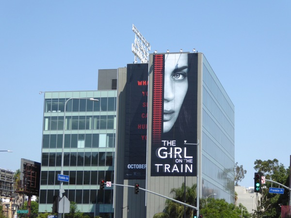 Giant Girl on the Train movie billboard