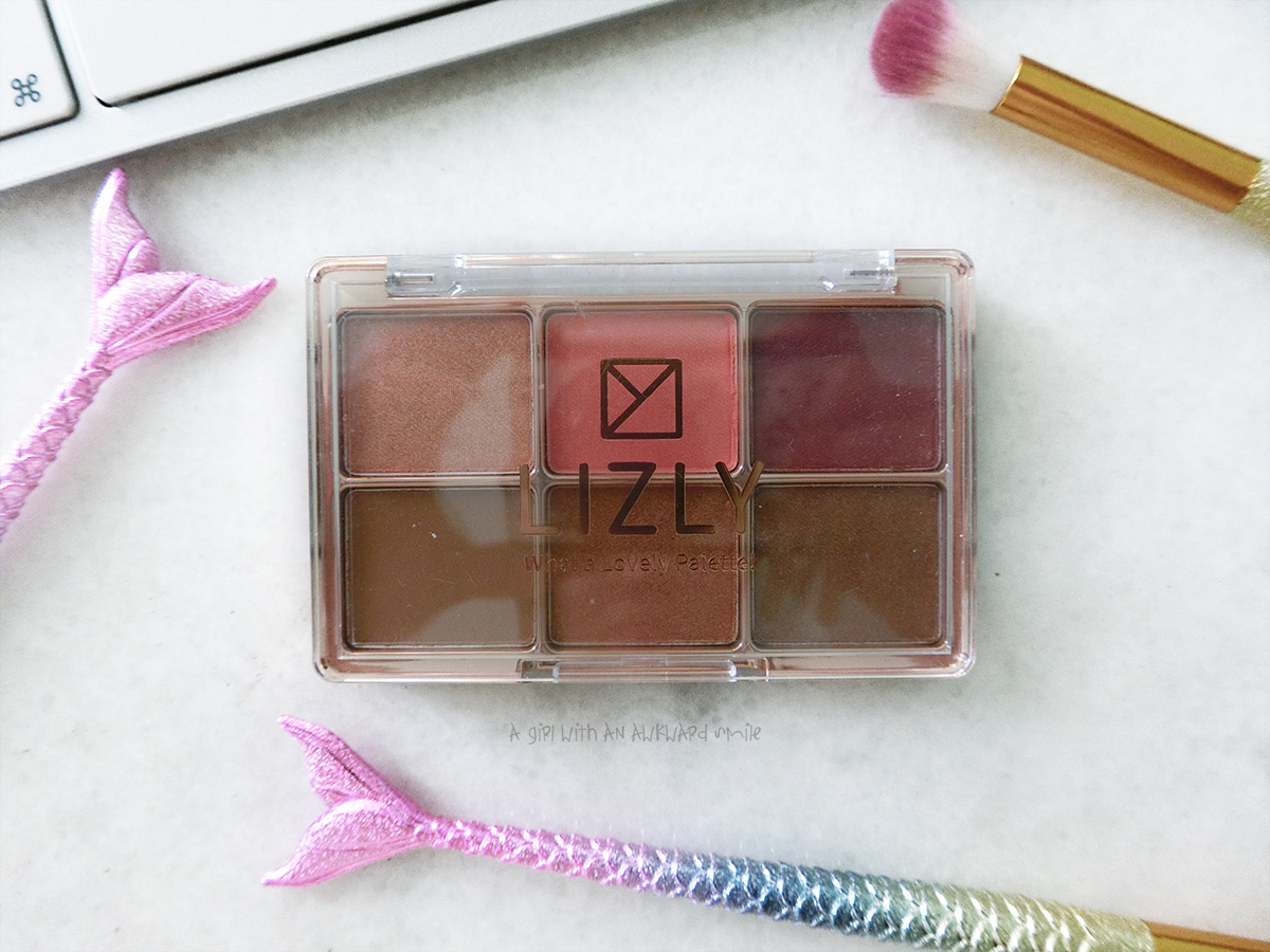 รีวิว LIZLY WHAT A LOVELY PALETTE
