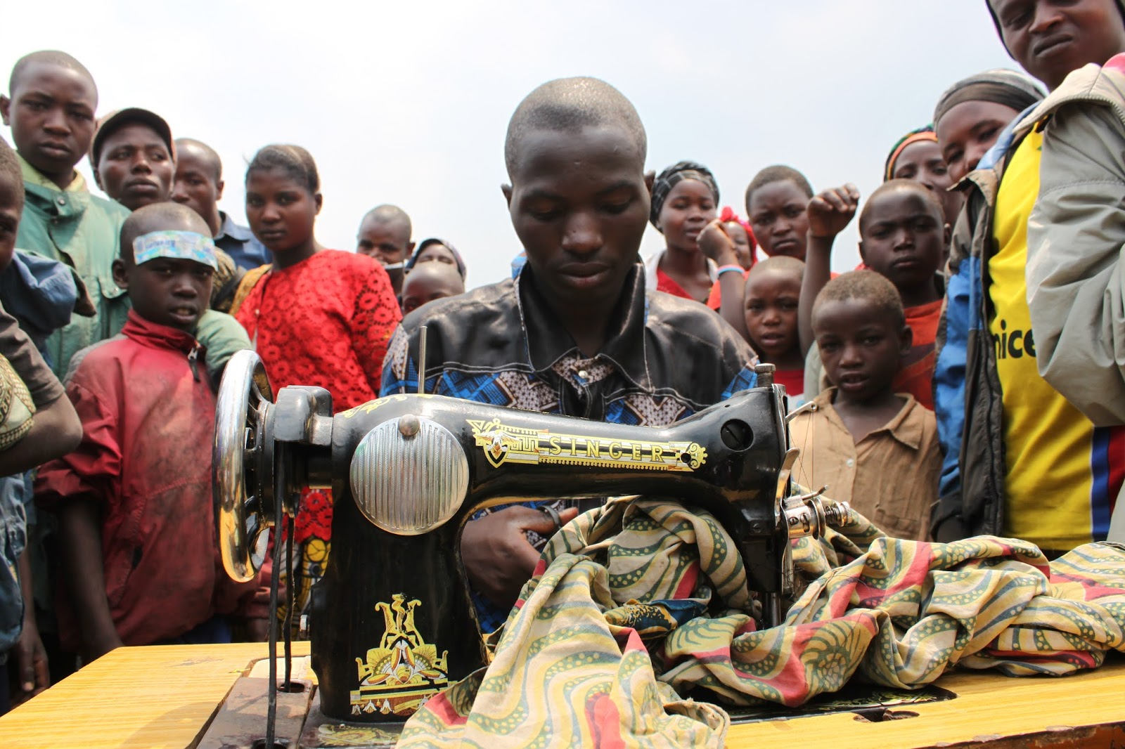 Oxfam on Sewing In The Democratic Republic of the Congo