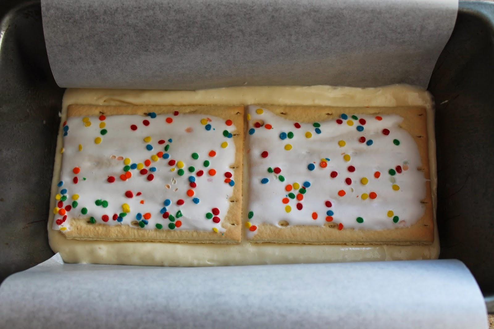 Cake Batter Pop Tarts