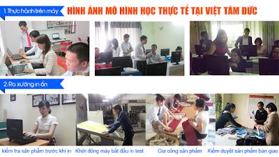 Mô hình học của khóa học photoshop tại Lê Trọng Tấn