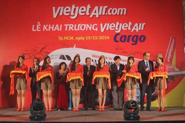 Khai trương hoạt động VietjetAir Cargo
