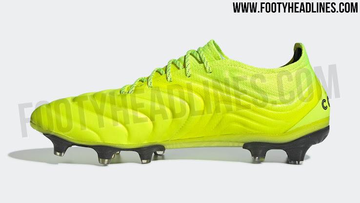 Comercialización Clan terminado  Solar Yellow Adidas Copa 19 2019-20 'Hard Wired' Boots Leaked - Footy  Headlines