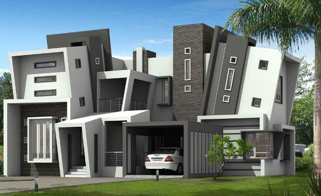 44 Gambar Rancangan Rumah Modern Gratis Terbaik