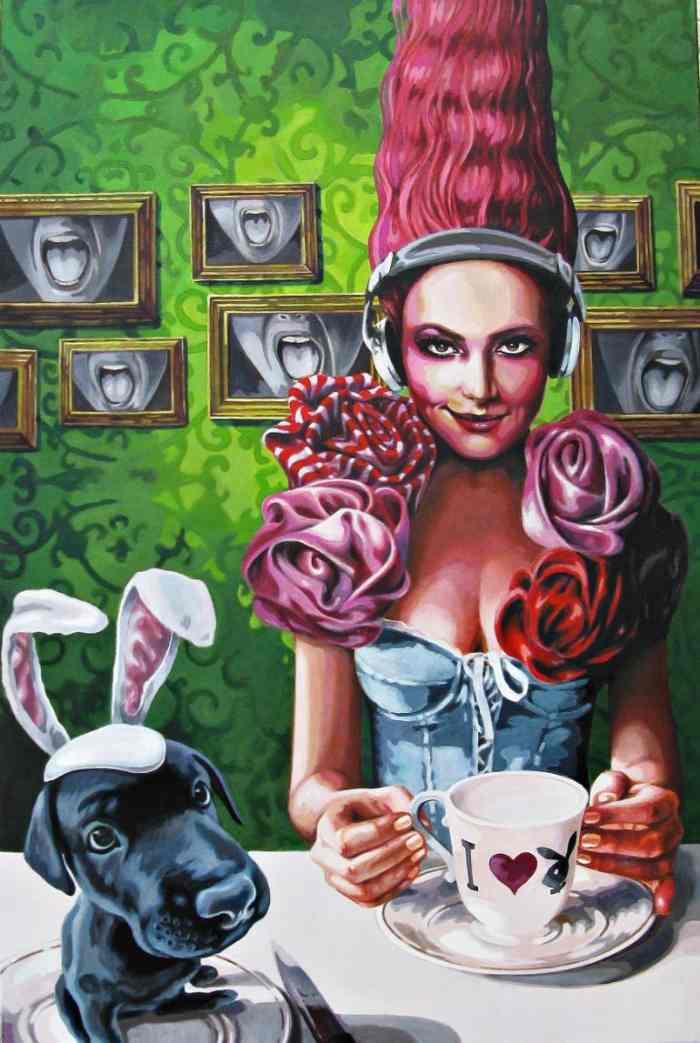 Немецкая художница. Sonja Tines