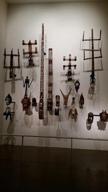 African carvings at Musee du Quai Branly