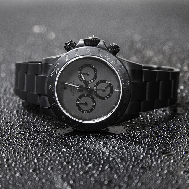 Photo of M. Shinoda X BWD Daytona watch
