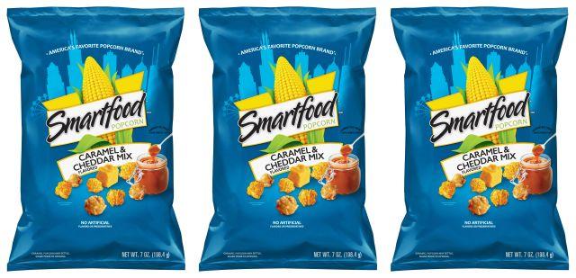 New Smartfood Caramel & Cheddar Mix Popcorn for the Summer ...