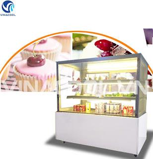 mua tủ trưng bày bánh kem để bàn