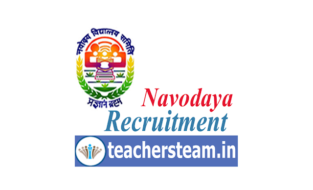 NVS Recruitment 2019 Navodaya Vidyalaya 251 Teaching & Non-Teaching Jobs