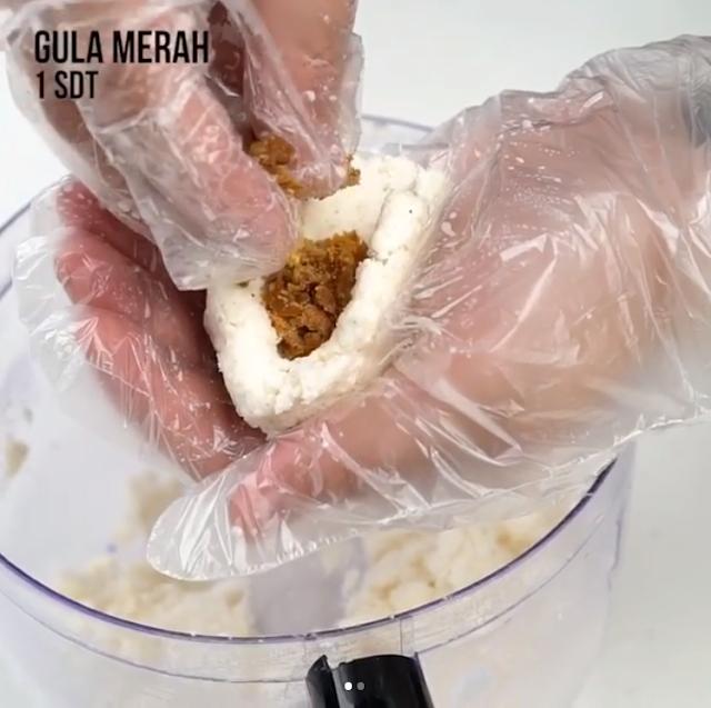 Gambar Cara Membuat Misro Isi Gula Merah Step 4