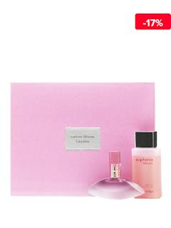 Set cadou Euphoria Blossom (Apa de toaleta 50 ml + Gel de dus 100 ml), pentru femei