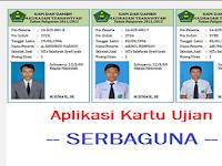 Download Aplikasi Kartu Ujian Akhir Semester (UAS) Gratis