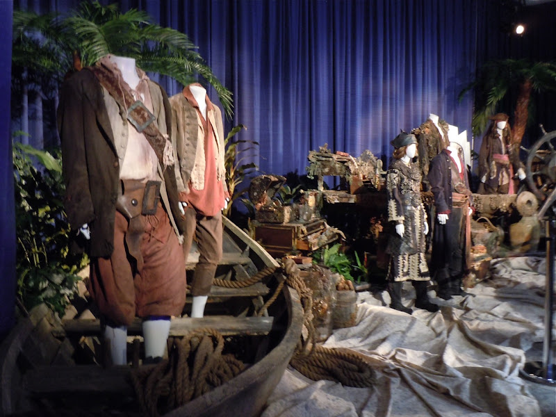 Pirates of the Caribbean movie costumes