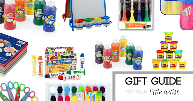 I've rounded up the best kids art supplies! These make the best gifts for any time of year, Toddler art supplies, Kids birthday gift, unusual birthday gift, gift guide, kids Christmas gift, stocking stuffer, toddler present, melissa and doug gift, crayola gift, creative toddler