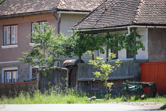 Tornácos ház Alsósófalván