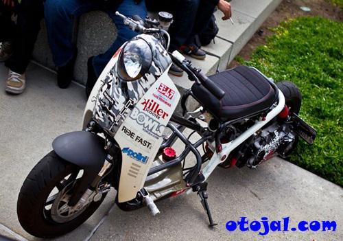Modifikasi Motor Honda Scoopy Terbaru Motorwallpapers Org