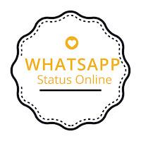 whatsApp status online logo | whatsApp status online contact us
