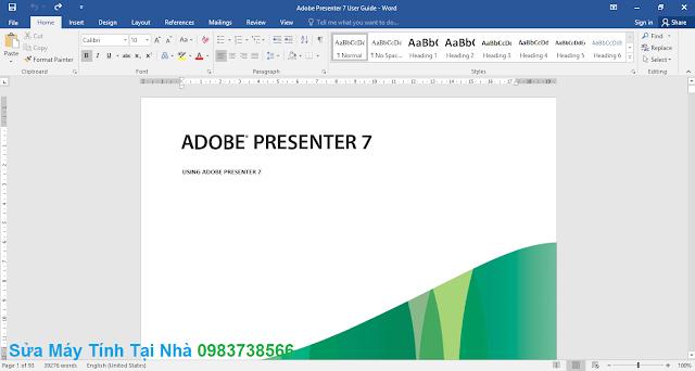 Chỉnh sửa PDF trong Word - H03