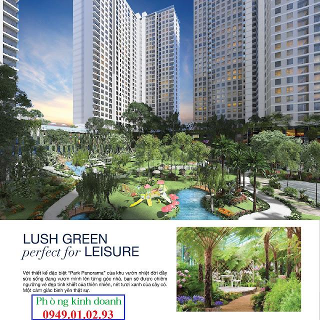 Dự án Centa Park 4 mặt tiền quận Tân Bình