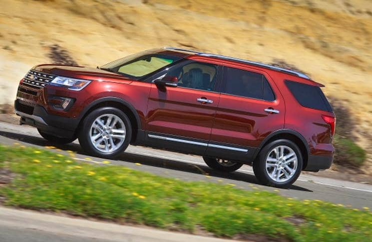 2016 Ford Explorer Running Boards
