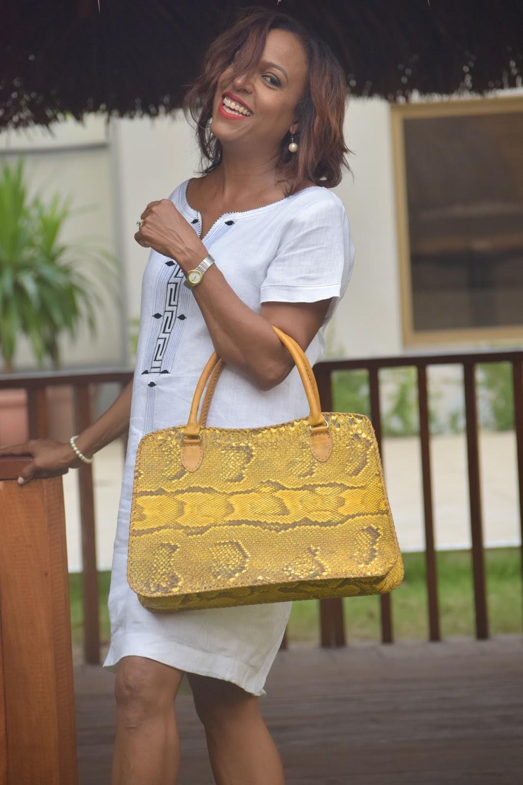 Gola Snake Skin Handbag