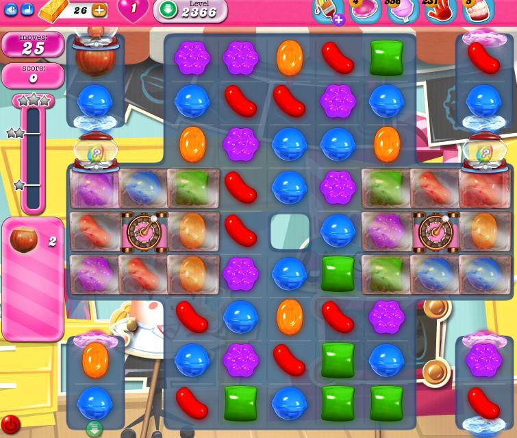 Candy Crush Saga level 2366