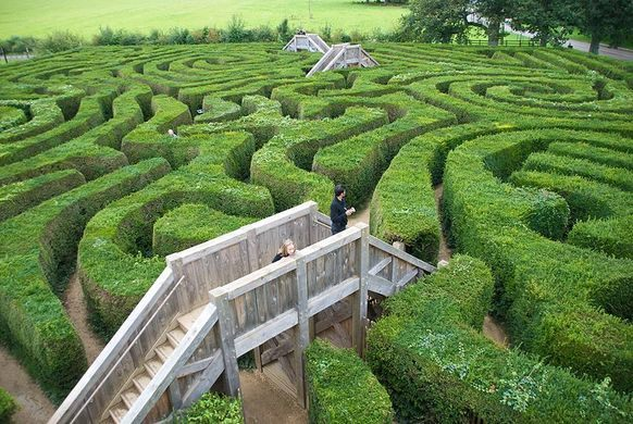 Longleat Hedge, Labirin Alam Terpanjang di Dunia
