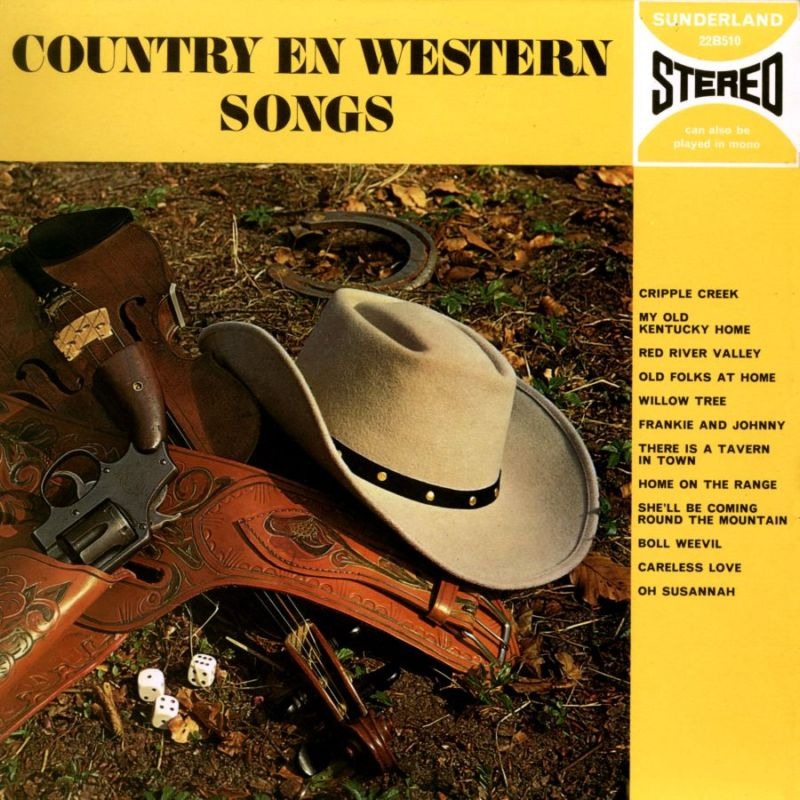 Sunderland Records: 22B510 - COUNTRY AND WESTERN SONGS