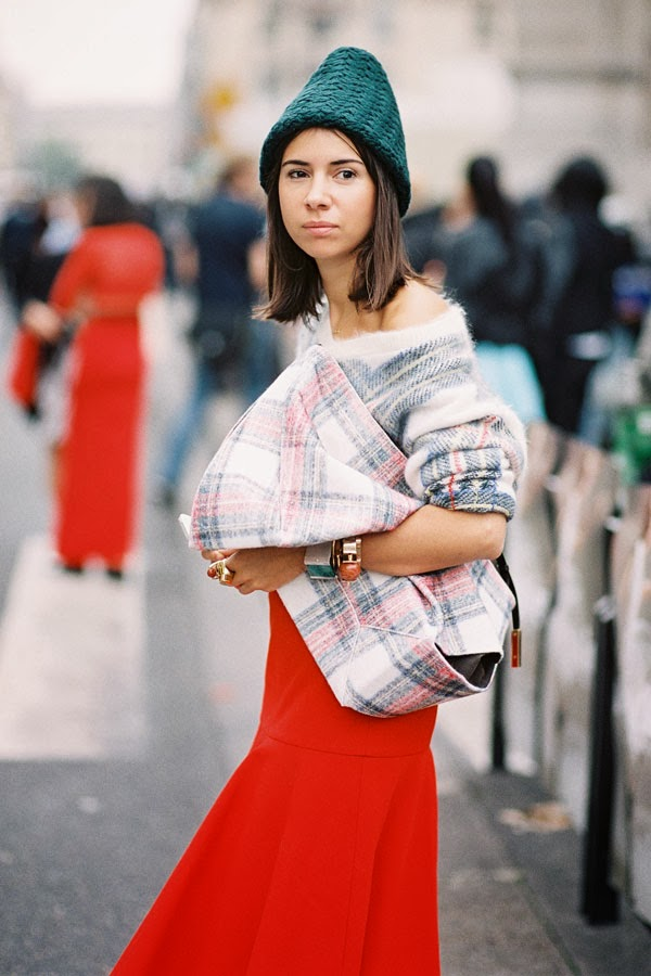 Vanessa Jackman: Paris Fashion Week AW 2014