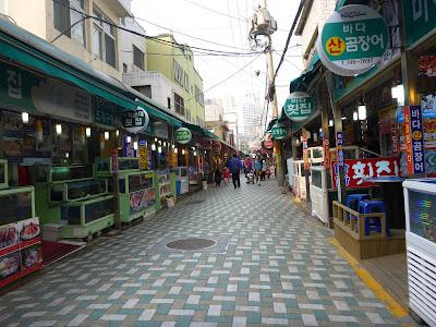 Kehidupan Pasar Haeundae