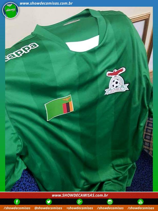 Zâmbia divulga uniformes da Kappa antes mesmo de assinar contrato ... fb64a17fd744b