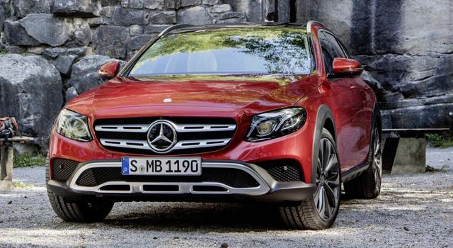 внедорожный универсал Mercedes-Benz E-класса