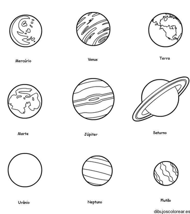 planetas para colorear engne euforic co