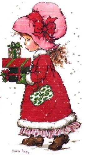 Desenho de Sarah Kay - Feliz Natal