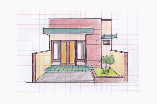 view of simple house plan 05