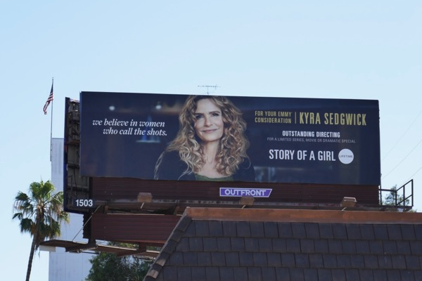 Story of a Girl Kyra Sedgwick Emmy FYC billboard