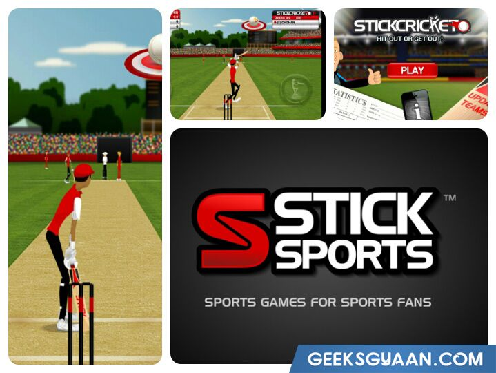 Stick Cricket game for Android