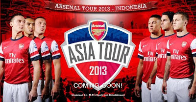 Arsenal Asia Tour 2013 - Indonesia